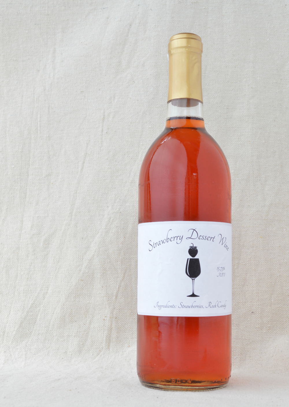 Strawberry Dessert Wine