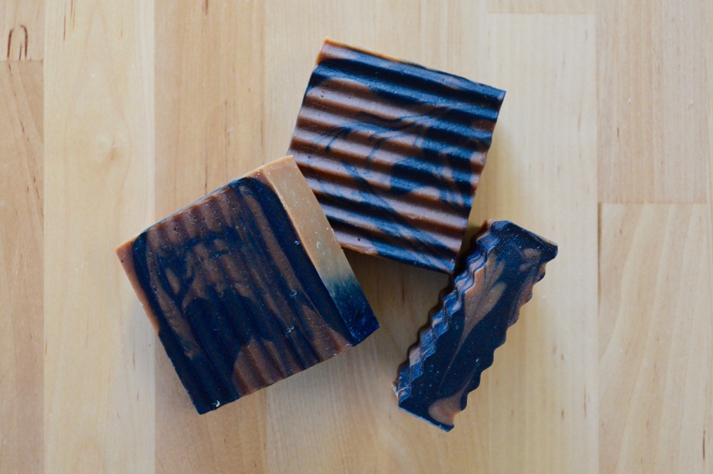 Red Clay and Charcoal Soap